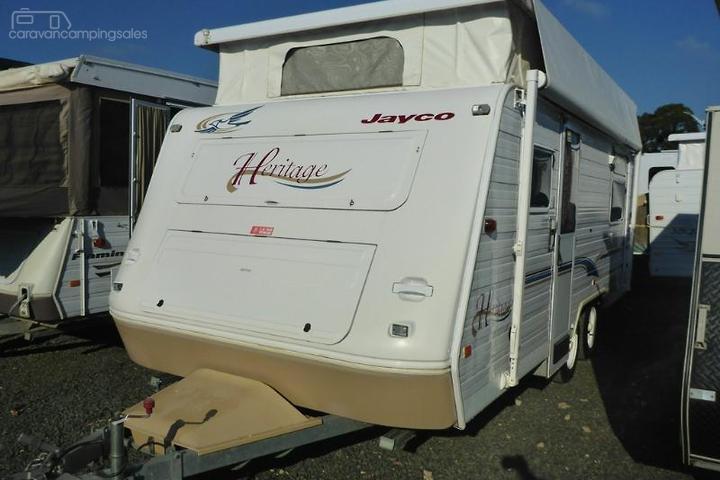Jayco HERITAGE Caravans for Sale in Victoria, Australia