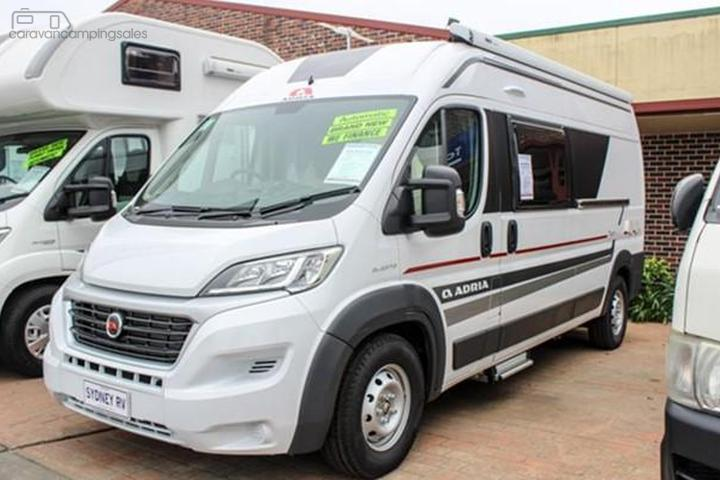 Caravans Campervan Motorhomes & Campers for Sale in Australia