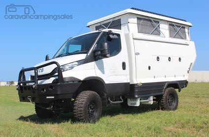 2017 all terrain warriors iveco daily 4x4 motorhomes campers in queensland. Black Bedroom Furniture Sets. Home Design Ideas