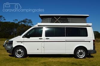 2010 Volkswagen Frontline Campervan