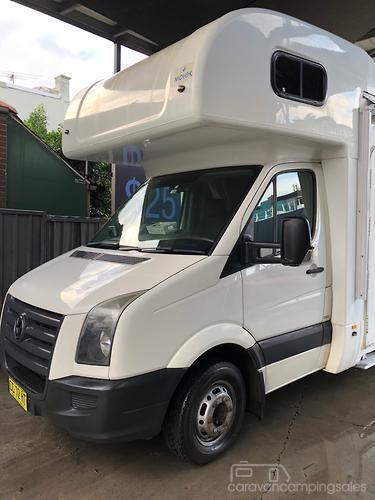 Volkswagen Crafter Caravans for Sale in Australia