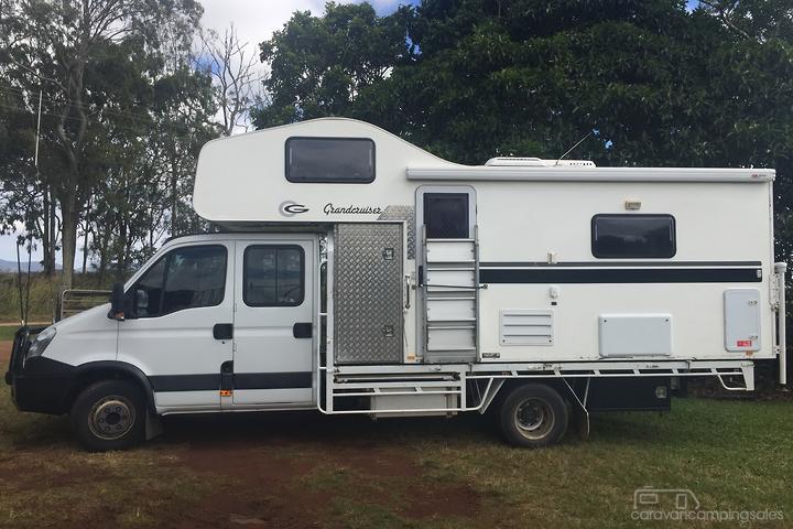 Stupendous Caravans Slide On Motorhomes Campers For Sale In Australia Download Free Architecture Designs Scobabritishbridgeorg