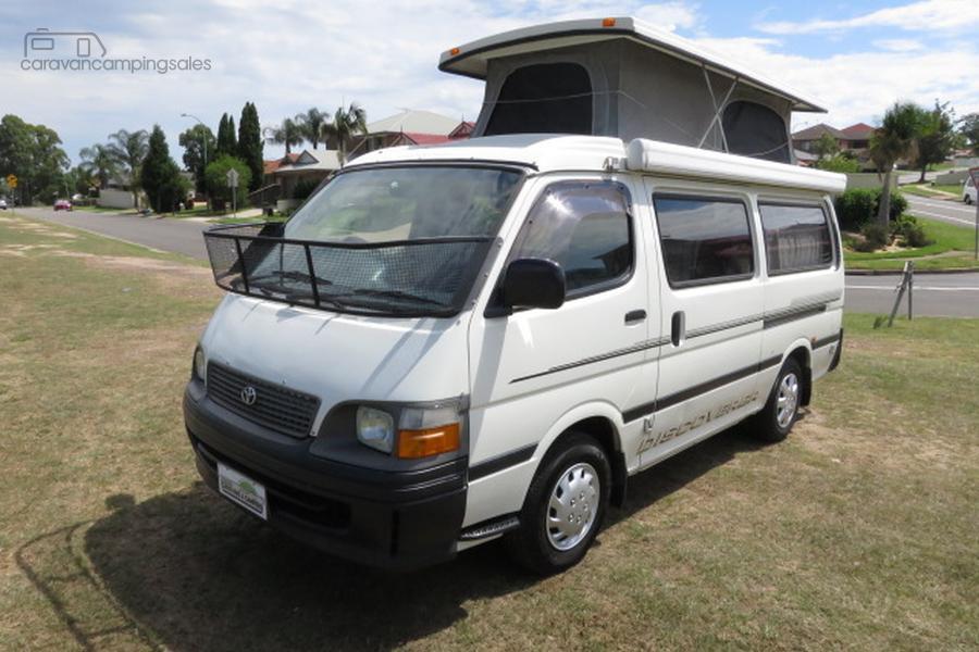 1999 Toyota Hiace Camper – AUTO – 5 SEATS-OAG-AD-17386038