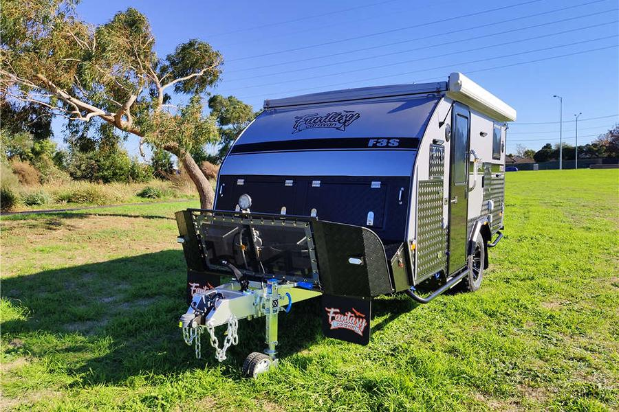 2019 Fantasy Caravan 13FT ENSUITE OFF ROAD POP TOP HYBRID