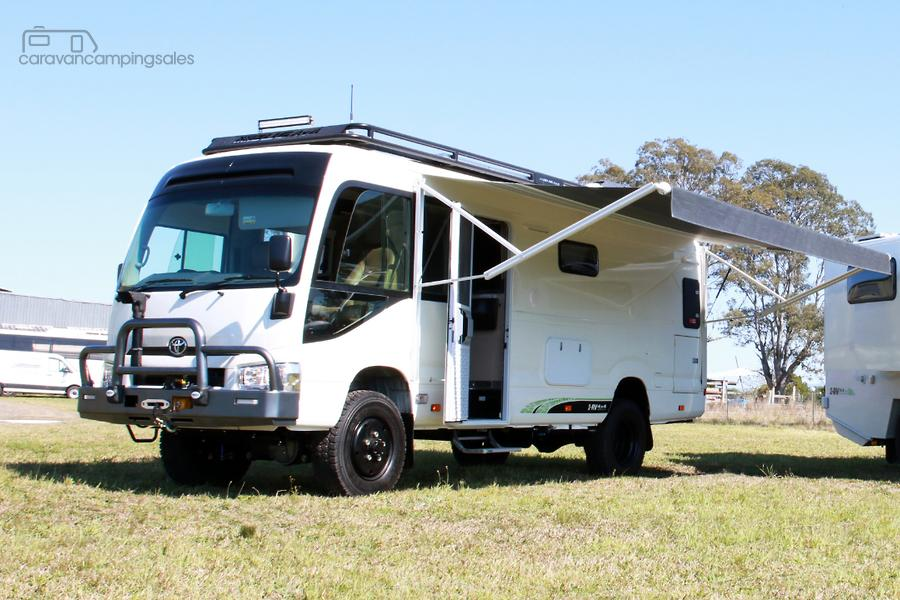 e5a43a55d66bb6 Toyota Bus 4x4 Slide-out Motorhome Conversion of Coaster-OAG-AD ...