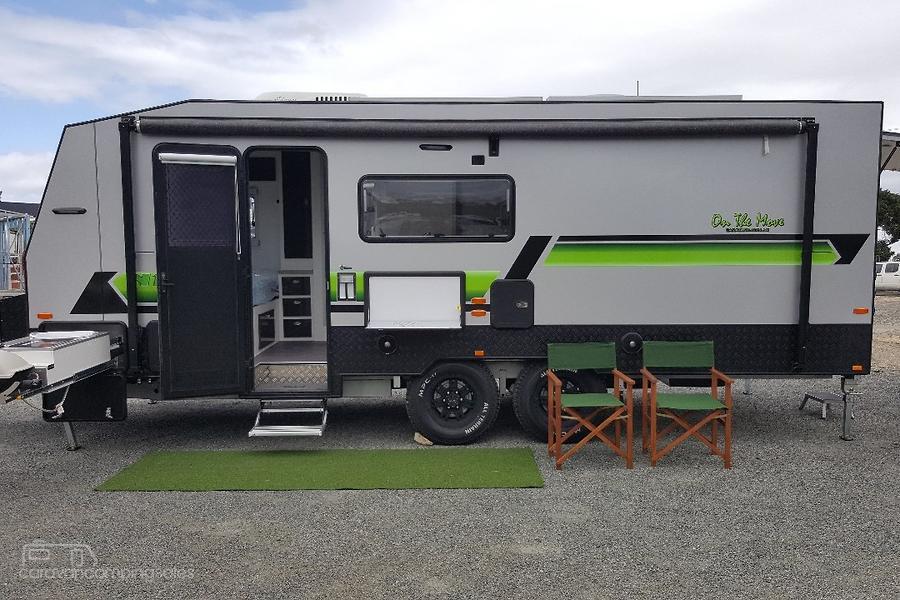 2018 On The Move Caravans Nitro Toyhauler