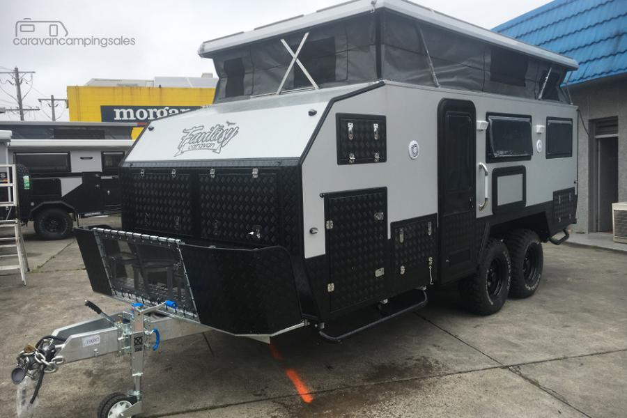 2018 Fantasy Caravan Stock Sale 17FT Pop Top Hybrid Off road