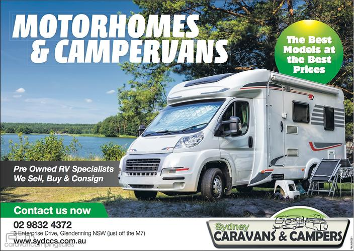 Caravans Motorhome Motorhomes & Campers for Sale in