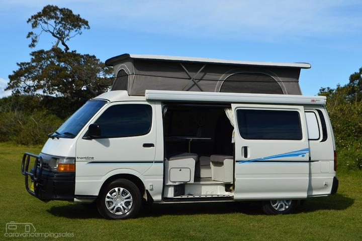 Toyota Caravans Campervan Motorhomes & Campers for Sale in Australia