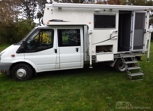 50616ad11a Escape Caravans Slide On Motorhomes   Campers for Sale in Australia ...