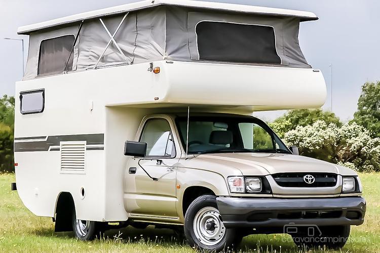 Toyota Caravans Motorhomes Campers For Sale In Australia
