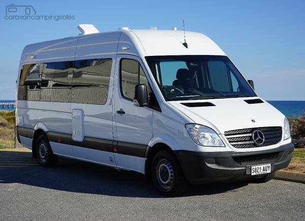 5a207ffbecb7c7 Mercedes-Benz Sprinter RV Motorhome Campervan Caravans for Sale in ...