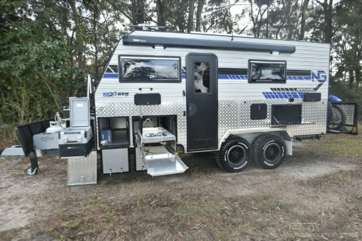 Nextgen NEXT LEVEL Toy Hauler 5 03m x 2 40m 16'6